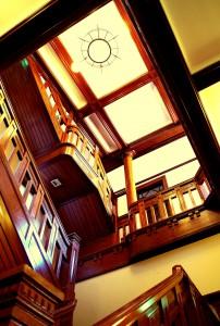 五龍閣・階段
